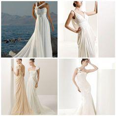 greek style wedding dresses Greek Style Wedding Dress, Wedding Dresses, Special Day, Got Married, One Shoulder Wedding Dress, How To Wear, Inspiration, Fashion, Bride Dresses