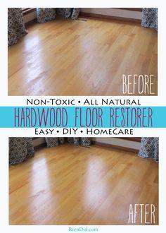 BrenDid All natural non toxic hardwood floor restorer