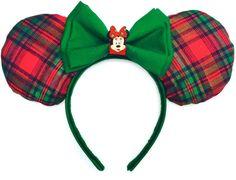 Disney Inspired Christmas Mouse Ears Handmade  by WisheryEarMakers