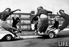 teenagers in Norfolk, VA (1958)