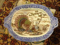 Antique store item ,turkey platter