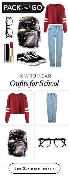 """Get away with casual styles"" by aincraft29 on Polyvore featuring Topshop and Chanel"