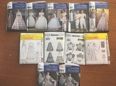 Historian Under Garments Patterns Seven Patterns In All Free Shipping Plus Three  | eBay