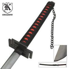 Ninja Warrior Carbon Steel Black Blade Katana Sword