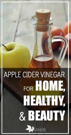 If you aren't using apple cider vinegar in your home, you should! Check out all these amazing uses for ACV.