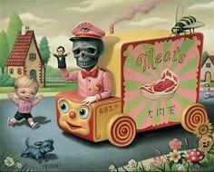 Cuddly Creepy Surrealism by Mark Ryden Mark Ryden, Art Bizarre, Creepy Art, Weird Art, Strange Art, Art And Illustration, Arte Lowbrow, Arte Pop, Art Sinistre