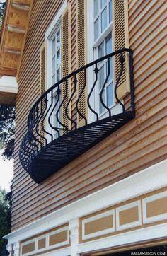 Back yard grill Balcony Grill Design, Balcony Railing Design, Patio Gazebo, Backyard, Balcon Juliette, Balustrade Balcon, Iron Balcony, Balcony Window, French Balcony