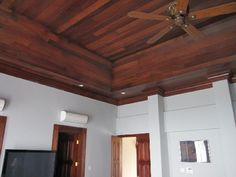 Example of vaulted ceiling