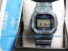 CASIO (Casio) G-SHOCK (G shock) DW-5600CF-2JF G-PYTHON (G python) blue camouflage speed model