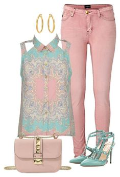 Sin título #1687 by marisol-menahem on Polyvore featuring moda, Alice In The Eve and Valentino