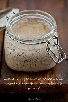 Zakwas Cookie Desserts, Holiday Desserts, How To Make Bread, Food To Make, Bread Recipes, Cooking Recipes, Home Bakery, Polish Recipes, Polish Food