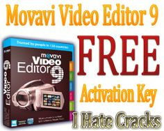 Movavi Video Editor 9 SE Activation Key . Limited Time Giveaway