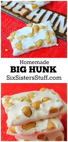 Homemade Big Hunk on SixSistersStuff.com