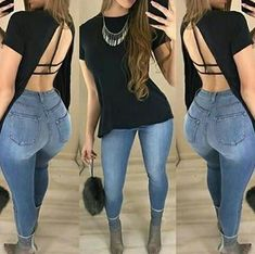 20 Tips for Who Want To Wear Business Casual Jeans Women Cute Swag Outfits, Hot Outfits, Summer Outfits, Girl Outfits, Casual Outfits, Fashion Outfits, Womens Fashion, Sexy Jeans, Skinny Jeans