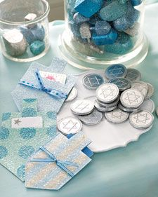 Dreidel Gift-Card Holders  from Martha Stewart Living