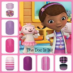 Even young docs can get the Jamberry look with Juniors! mackharper.jamberrynails.net