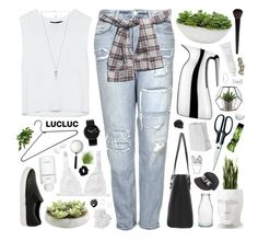 """Lucluc.com"" by sarahkatewest ❤ liked on Polyvore featuring Topshop, Amber Sceats, Monki, Ethan Allen, Byredo, Vondom, Distinctive Designs, Georg Jensen, Belec and Alessi"