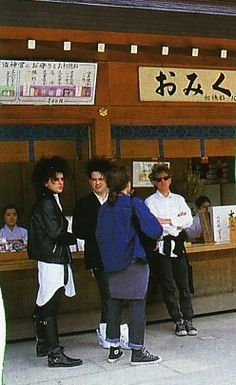 The Cure in Japan