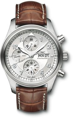 IW371702 IWC Spitfire Mens Stainless Steel Watch | WatchesOnNet.com