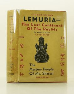 Lemuria: Lost Continent of the Pacific. Continent of Mu (Lemuria) Occult Books, Mount Shasta, Continents, New Books, Lost, Freemasonry, Products, Gadget
