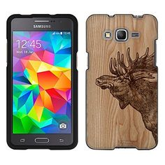 Samsung Galaxy Grand Prime Case, Snap On Cover by Trek Sketched Moose on Wood Case, http://www.amazon.ca/dp/B018RG29EI/ref=cm_sw_r_pi_awdl_x_DCngybJ51DJ5V