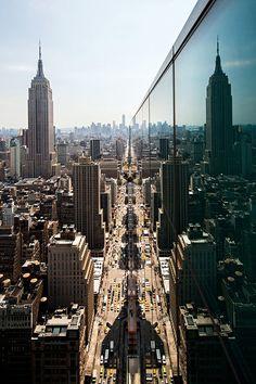 Las Mejores Fotografías del Mundo: Ciudad de Nueva York desde los rascacielos.