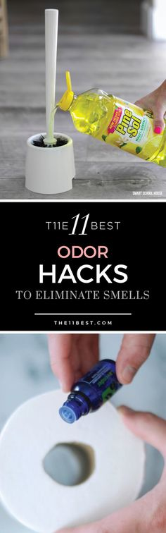 Odor Hacks to make things smell better