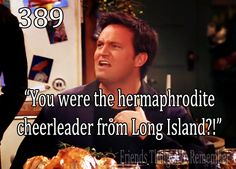 """You were the hermaphrodite cheerleader from Long Island?"""
