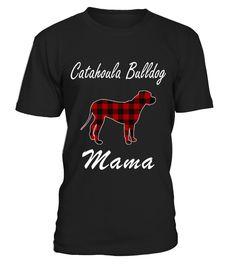Catahoula Bulldog t shirt Catahoula Bulldog Mama Plaid Shirts  Funny Cat T-shirt, Best Cat T-shirt