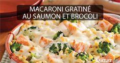 Vous n'auriez jamais osé ajouter du saumon dans votre macaroni? On l'a testé pour vous! Succès garanti! Macaroni, Ajouter, Fish And Seafood, Fish Recipes, Mousse, Food And Drink, Drink, Salmon And Broccoli, Noel