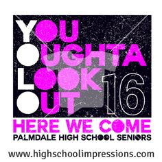 High School Impressions: Senior T-Shirts, Custom Student Council T Shirts, DECA, FBLA, High School Club TShirts - Create your own design for t-shirts, hoodies, sweatshirts. Choose your Text, Ink and Garment Colors. SEN-057-W