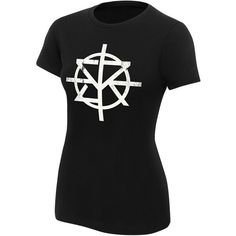 "Seth Rollins ""Redesign, Rebuild, Reclaim"" Women's Authentic T-Shirt ❤ liked on Polyvore featuring tops, t-shirts, cotton tee, tee-shirt, cotton t shirts, classic fit t shirts and classic fit shirt"