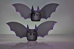 Boo Baby Food Jar Bats - Halloween #DIY How-To!