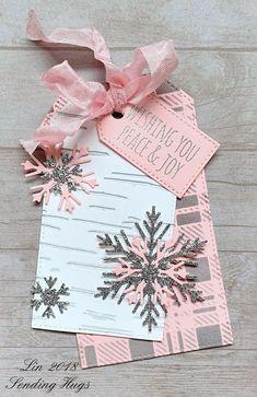 Simon Says......Wrap it Up! | Sending Hugs | Bloglovin' Christmas Tags Handmade, Christmas Paper Crafts, Homemade Christmas Cards, Handmade Gift Tags, Christmas Gift Wrapping, Diy Christmas, Christmas Gifts, Xmas Cards, Holiday Cards