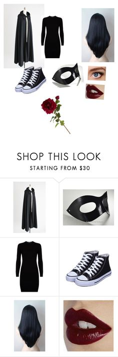 """""""This is my Halloween costume"""" by karabookiss ❤ liked on Polyvore featuring Marvel, Polo Ralph Lauren, Charlotte Tilbury and Sia"""