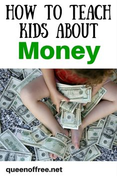 Whether you realize it or not, your kids are learning about money from you. Read how to teach kids about money along with practices to always avoid.