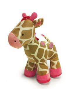 Carter's Jungle Jill Plush Doll, Giraffe by Kids Line. $15.99. From the Manufacturer                Baby will love to nuzzle up to this cuddly plush giraffe from Carter's Jungle Jill collection featuring super soft giraffe print velour with bubble gum pink details. This is a perfect coordinate to the Jungle Jill nursery and a friendly pal for baby at home and on the go.                                    Product Description                Baby will love to nuzzle...