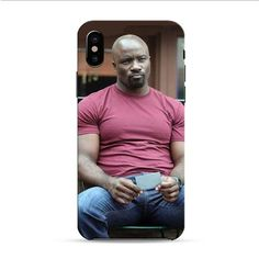 Luke Cage Red Shirt iPhone X 3D Case