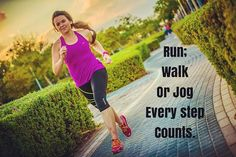 Every little step adds up to the ultimate goal! Make every step count!  Running Class See you Wednesday 530pm at Al Yasmina School Gate 25. Ladies only.  Let me know if you are coming…