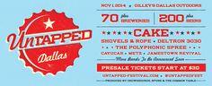Untapped Indie Music & Beer - Dallas, Texas - Nov 1, 2014