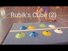 Rubik's Cube in de gymles! - YouTube Physical Education Activities, Elementary Physical Education, Elementary Pe, Health And Physical Education, Field Day Activities, Pe Activities, Gross Motor Activities, Activity Games, Pe Lesson Plans