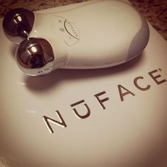 Non-surgical face lift that you can do yourself! Nuface Trinity.