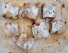 Cherry and almond traybake - CookTogether Tray Bake Recipes, Snack Recipes, Vegetable Pasties, Dairy Free Margarine, Fried Rice With Egg, Food Technology, Pudding Pies, Cream Cheese Cookies, Ground Almonds