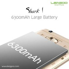 LEAGOO Shark 1 gives you much more time to browse, play games and enjoy Hollywood blockbusters, even though the phone body is only 8.5mm super slim.