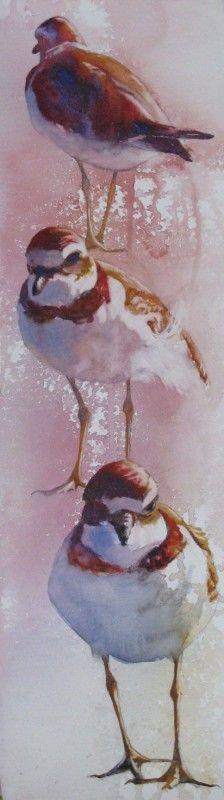 Vertical Plovers - Pat Holscher
