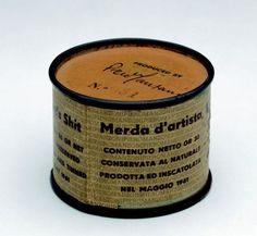 ** Piero Manzoni, Mierda de artista, 1961.