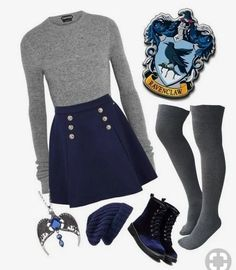 """""""Ravenclaw"""" featuring Tom Ford, Tommy Hilfiger and Hinge Nerd Fashion, Fandom Fashion, Teen Fashion Outfits, Look Fashion, Girl Outfits, Disney Fashion, Teen Fashion Winter, School Fashion, Mode Harry Potter"""