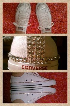 8076544ab74b Loving These Cute Converse Bedazzled Converse