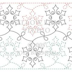 Jester - Pantograph | Quilting Patterns | Pinterest | Quilting ... : longarm quilting designs free - Adamdwight.com