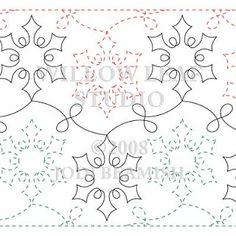 Jester - Pantograph | Quilting Patterns | Pinterest | Quilting ... : free quilting pantographs - Adamdwight.com